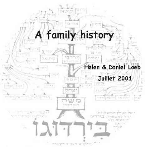 A Family History by Helen and Daniel Loeb