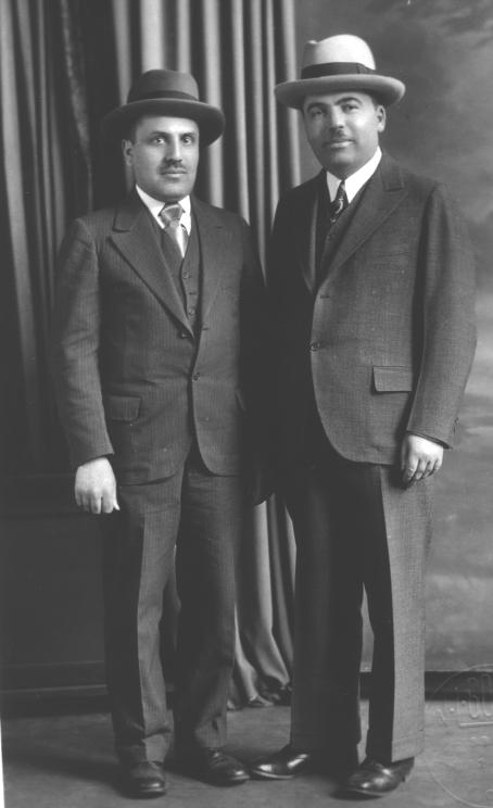 Rabbis STARR and REGANZON of the Hebrew Theological College
