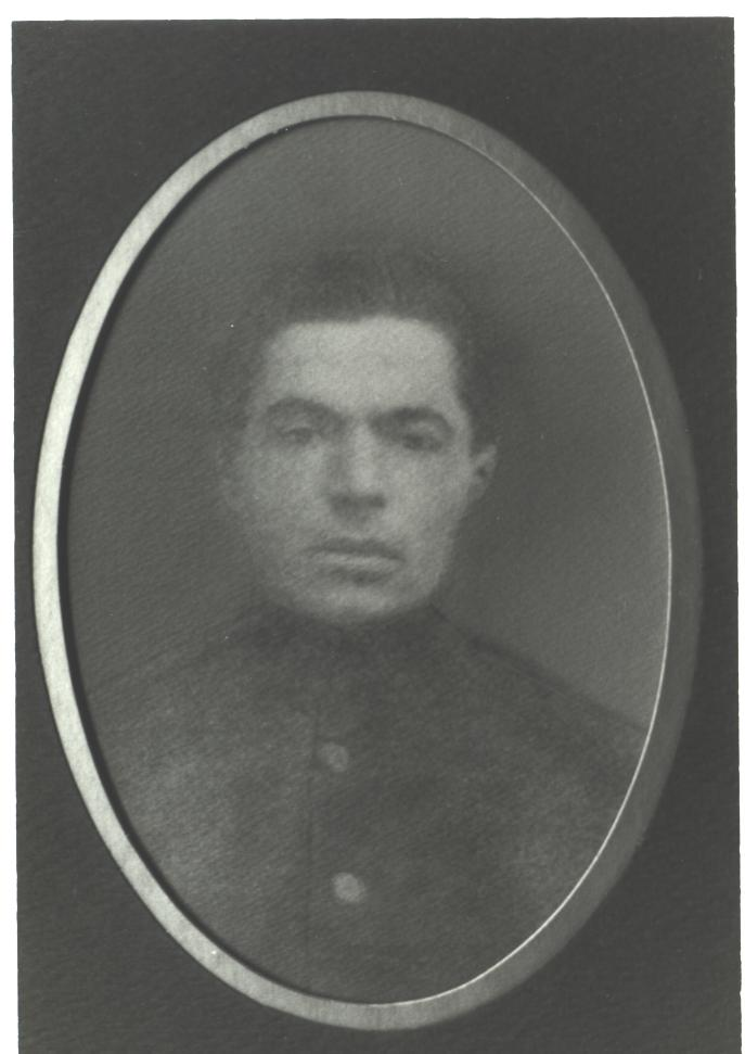 Zelig STAROBINSKY, passport photo